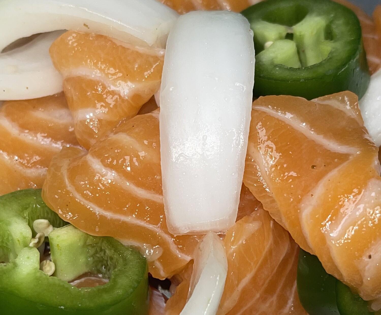 Truffle & White Onion Aromatic Infused Salmon