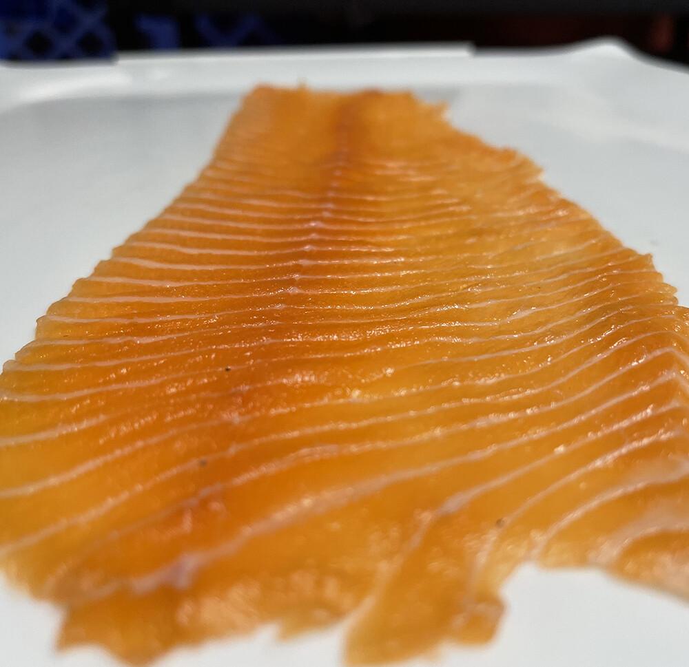 "Fresh Salmon ""Gazpacho"""