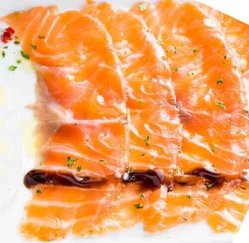 Salmon Nova Thin Strips