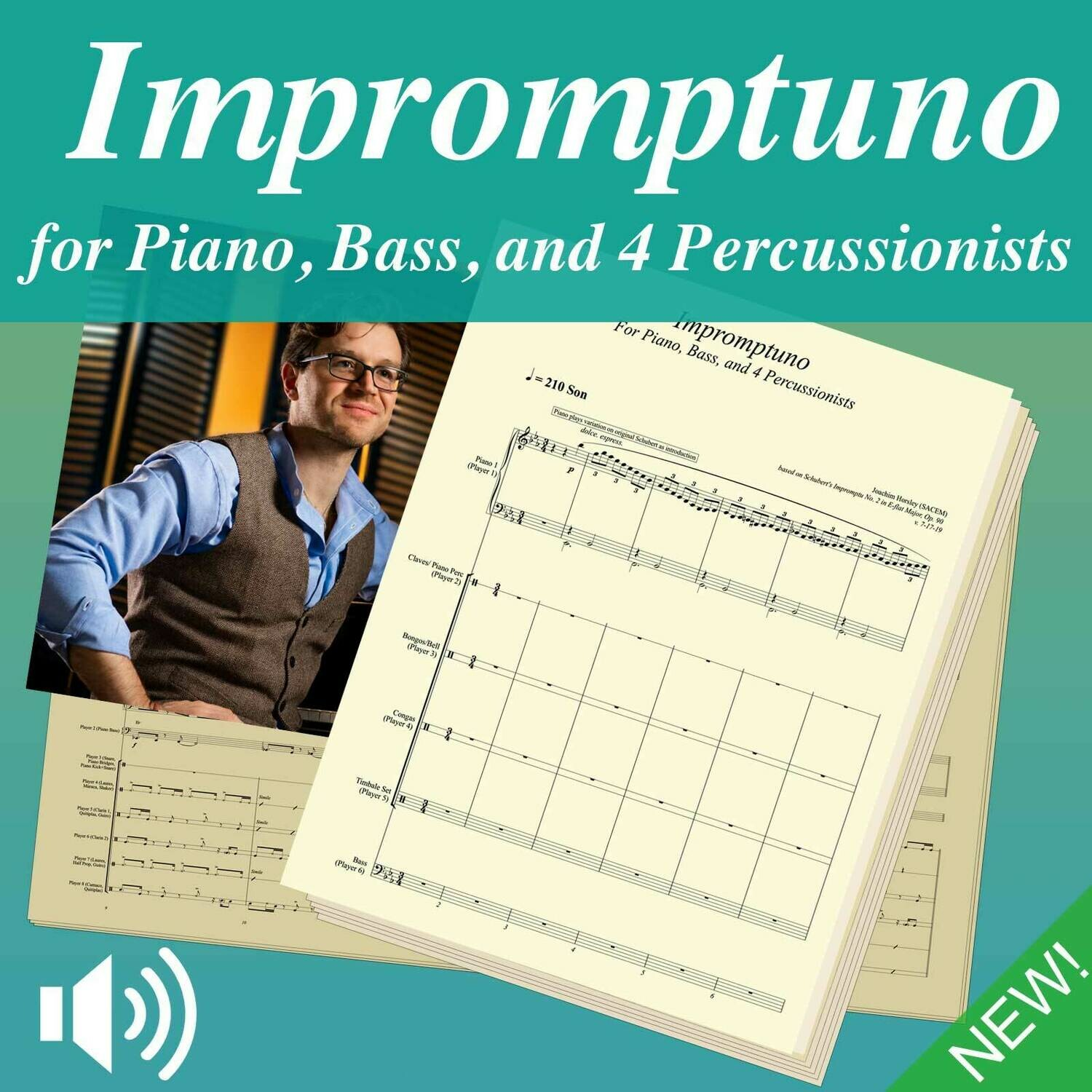 Impromptuno (Score, Parts, and Play-Along mp3s)
