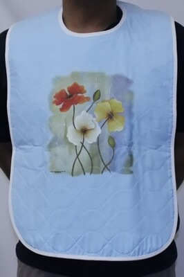 Ladies Quilted Clothing Protector / Adult Bib