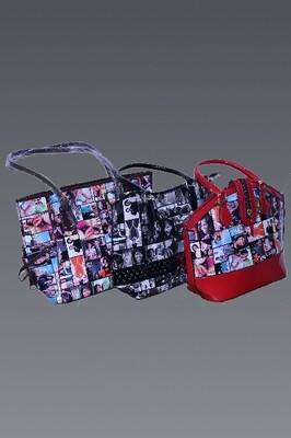 Obama Family Vinyl Print Handbags