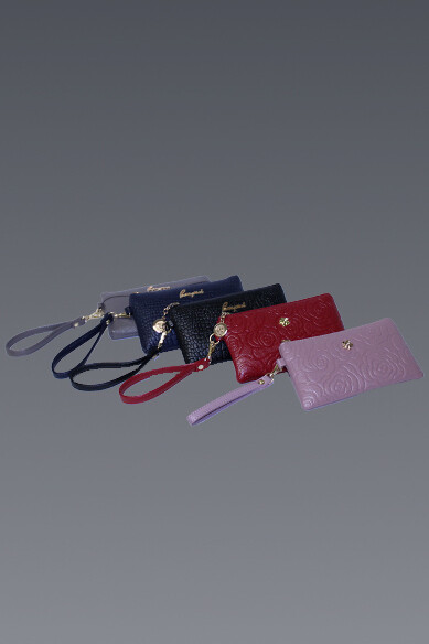 Zip Top Embossed Mini Bag