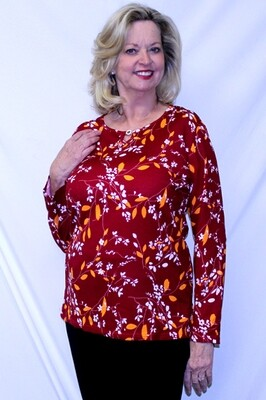 Long Sleeve Pullover Top - SPRING SPECIAL