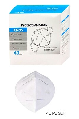 KN95 Protective Mask - Box of 40 pieces
