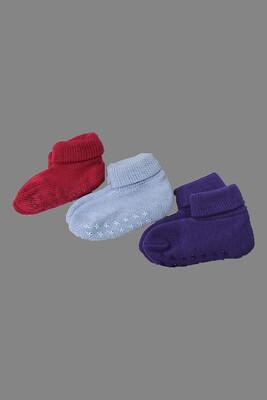 Terry Bootie Socks