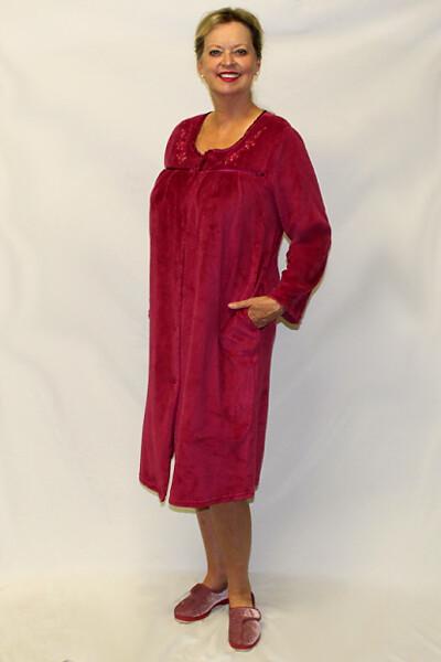 Brushed Velour Ladies Robe