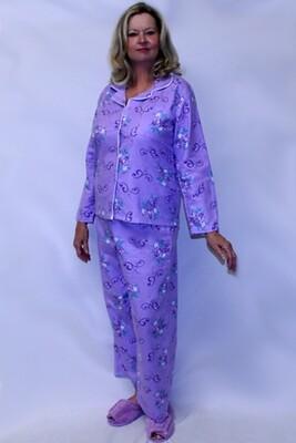 Ladies Flannel Pajamas