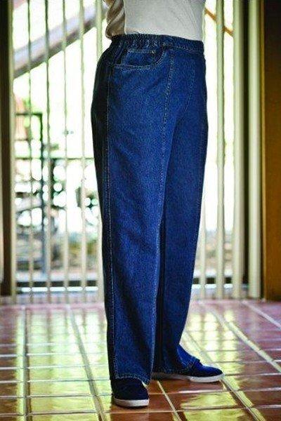 Women's Elastic Waist Jeans