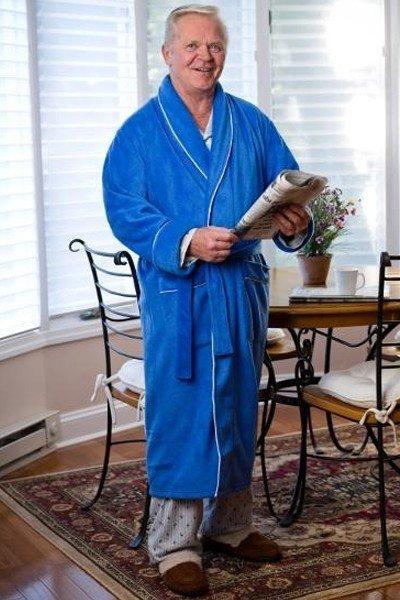 Men's Bath Robe