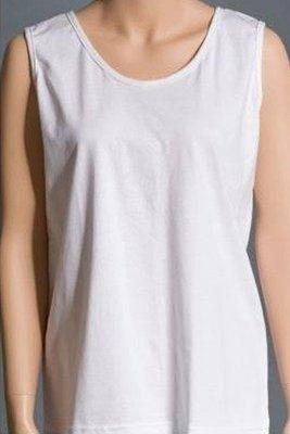 Back Opening Sleeveless Undershirt (Women's)