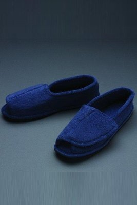 Men's Terry Adjustable Slippers