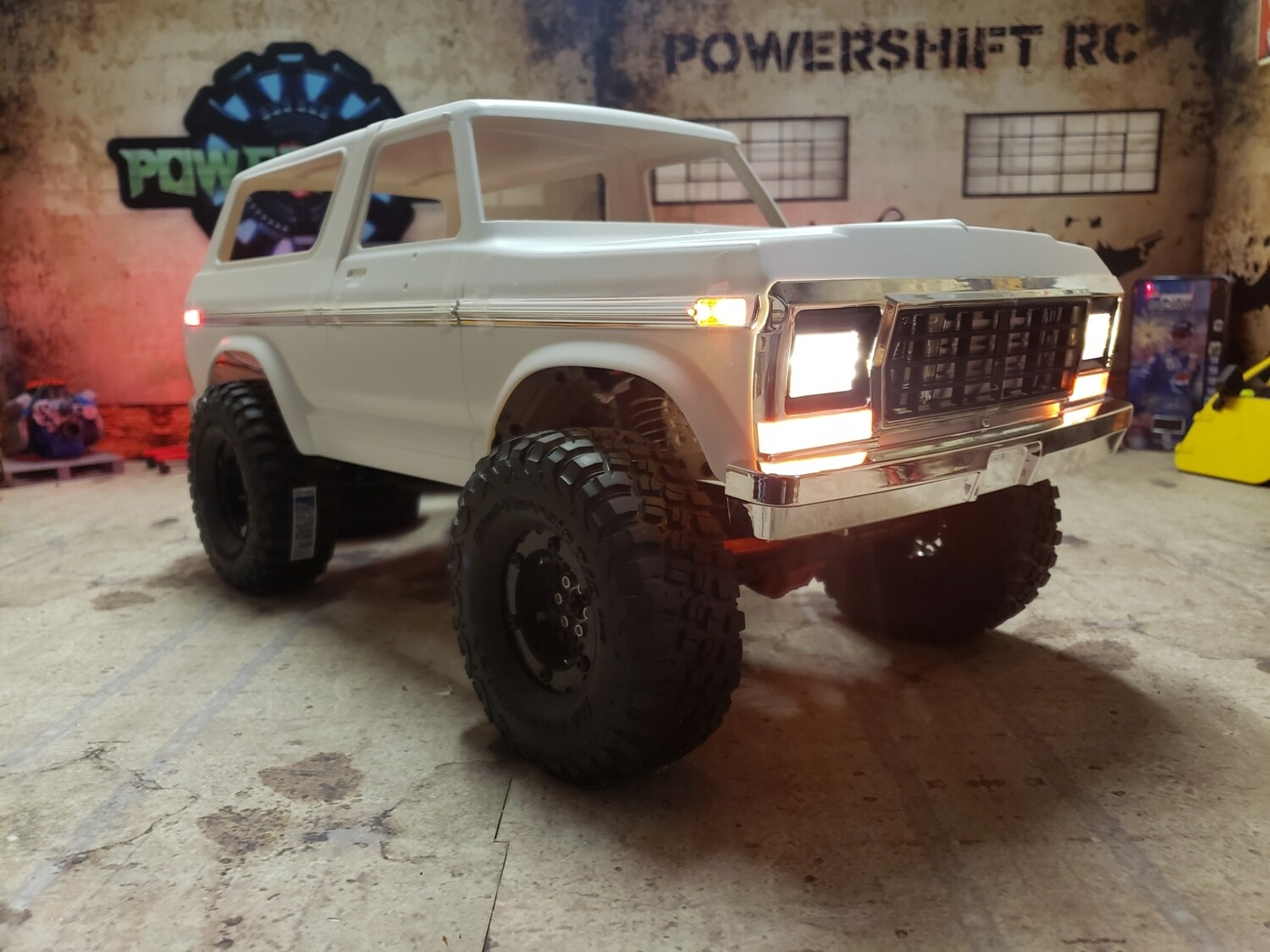 Team Raffee Gen 2 Bronco Light Set