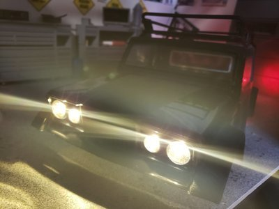 AXIAL KAISER JEEP O.E.M LIGHT KIT