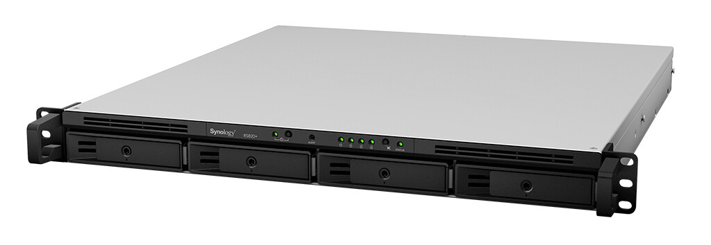 Synology RackStation RS820+ 4-Bay NAS
