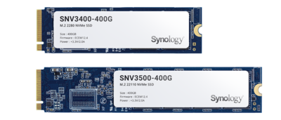 Synology SNV3000 NVMe SSD serija