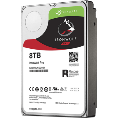 "Seagate 8TB IronWolf Pro 7200 rpm SATA III 3.5"" NAS HDD"