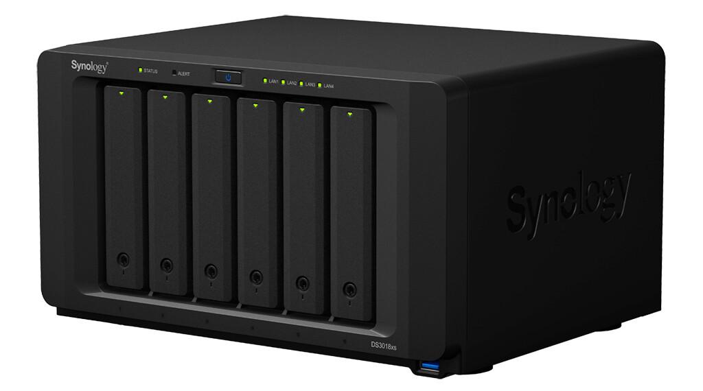Synology DiskStation DS3018xs 6-Bay NAS server