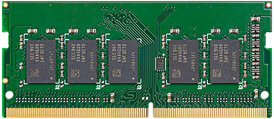 Synology 8GB DDR4 2666 MHz ECC Unbuffered SODIMM