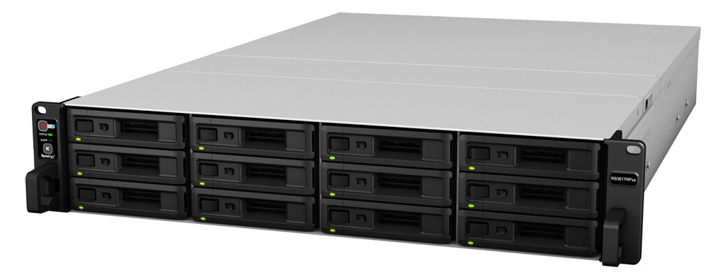 Synology RackStation RS3617RPxs 12-Bay NAS server