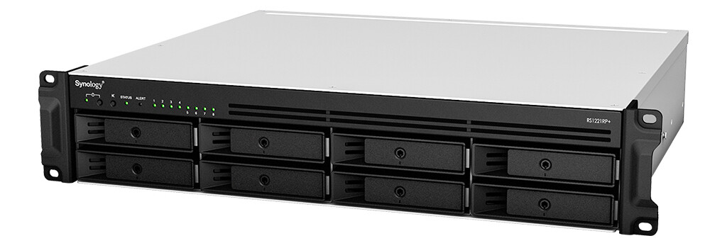 Synology RackStation RS1221RP+ 8-Bay NAS
