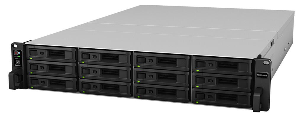 Synology RackStation RS3621RPxs 12-Bay NAS server