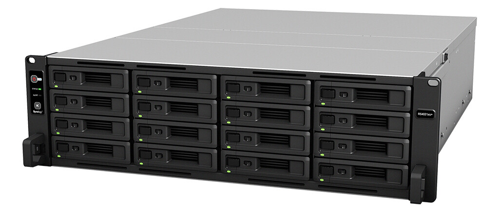 Synology RackStation RS4021xs+ 16-Bay NAS server