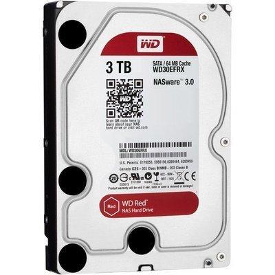 WD 3TB Red 5400 rpm SATA III 3.5
