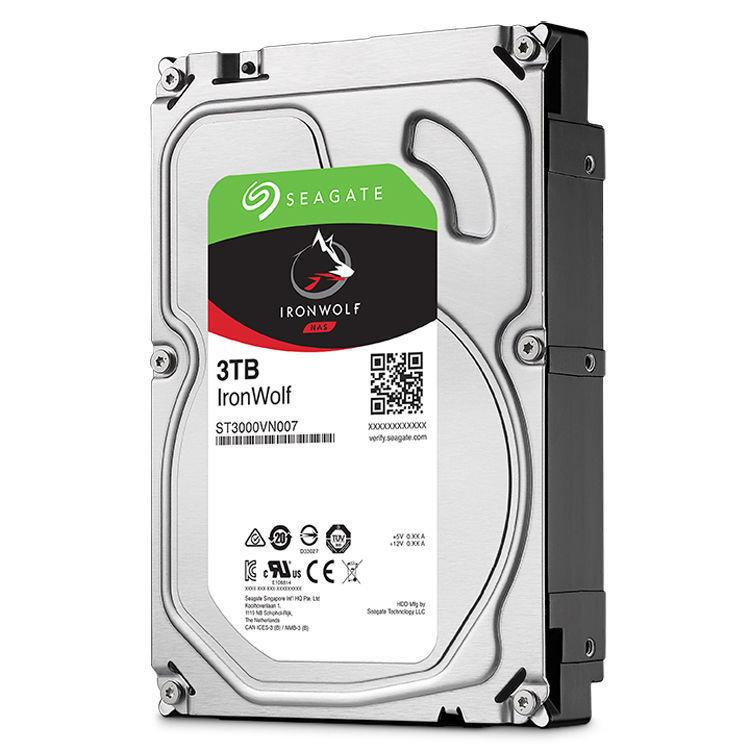 "Seagate 3TB IronWolf 5900 rpm SATA III 3.5"" Internal NAS HDD"
