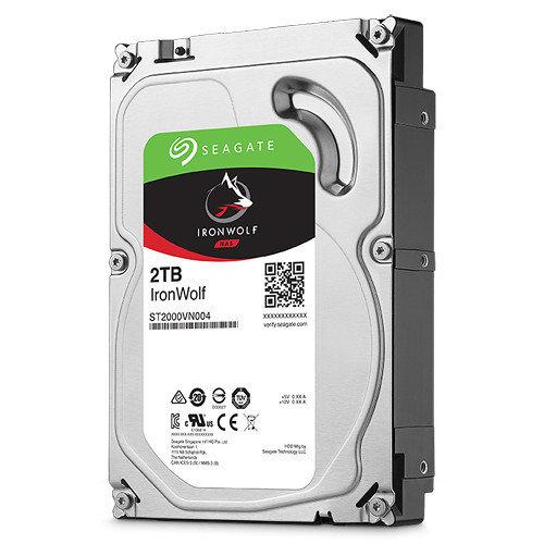 "Seagate 2TB IronWolf 5900 rpm SATA III 3.5"" Internal NAS HDD"