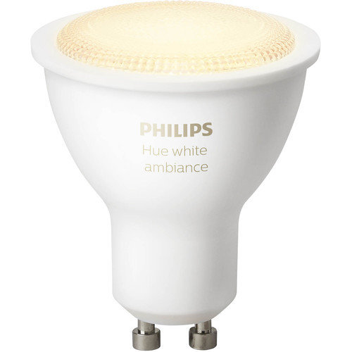 Philips Hue GU10 Single Bulb (White Ambiance)