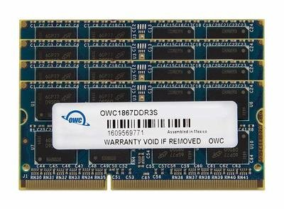 OWC 16GB DDR3 1867 MHz SO-DIMM Memory Kit (2 x 8GB)