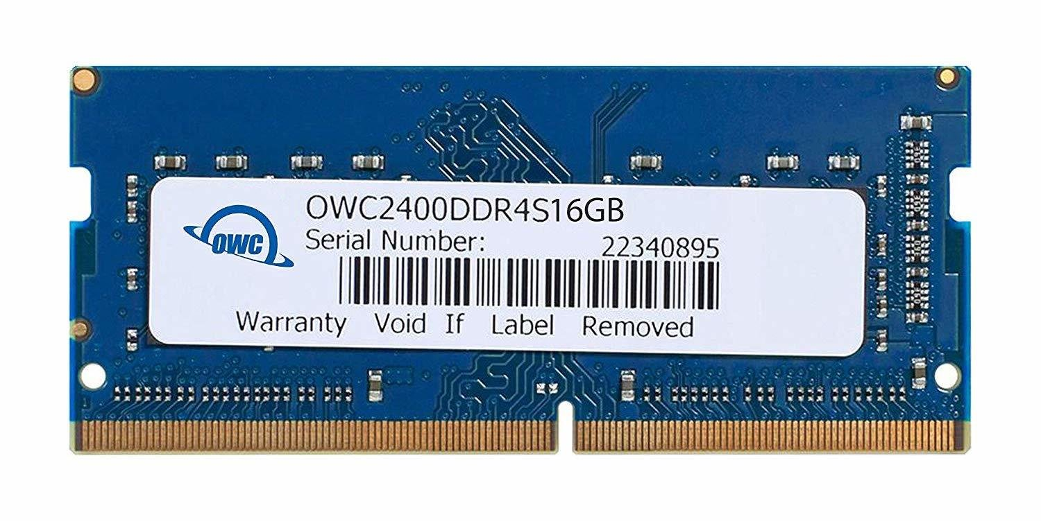 OWC 32GB DDR4 2400 MHz SODIMM Memory Upgrade Kit (2 x 16GB)