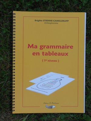 MA GRAMMAIRE EN TABLEAUX 1