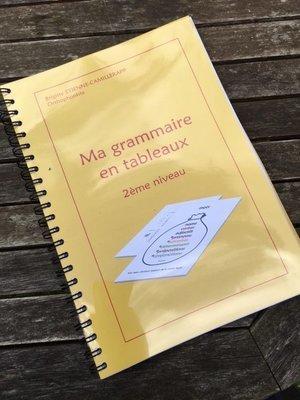 MA GRAMMAIRE EN TABLEAUX 2