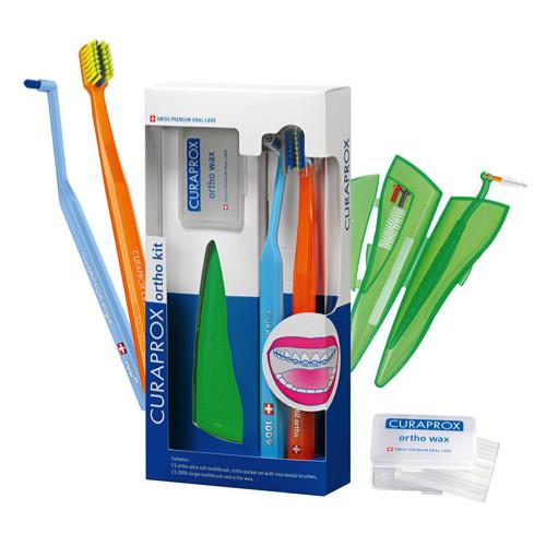 CURAPROX Ortho Kit مجموعة العناية بتقويم الأسنان