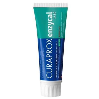 CURAPROX Enzycal 1450 Toothpaste 75ml معجون أسنان ضد البكتريا