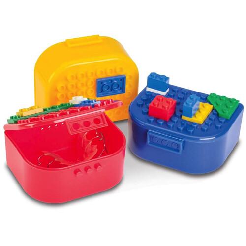 Building Box Retainer Cases  علبة حافظه لمثبت الأسنان