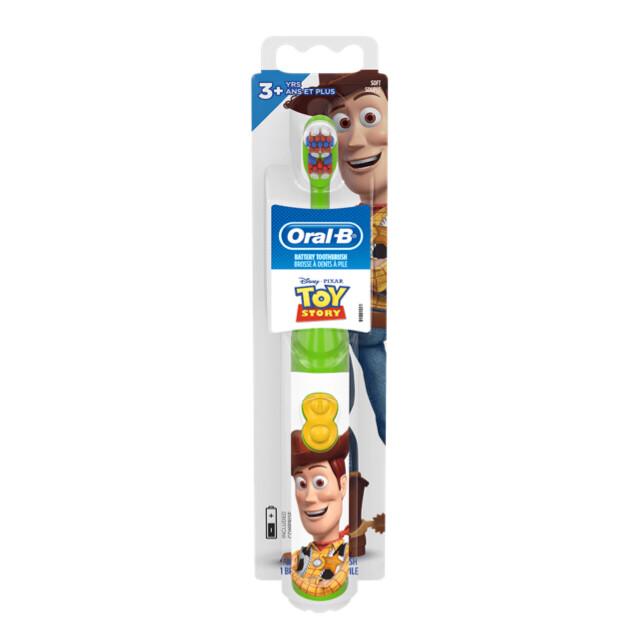 Oral-B Kids electric battery toothbrush Toy story فرشاة أسنان الكترونية للأطفال