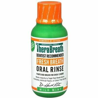 TheraBreath Mild Mint  غسول الفم ثيرابريث