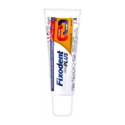 Fixodent PRO Plus مثبت طقم الأسنان