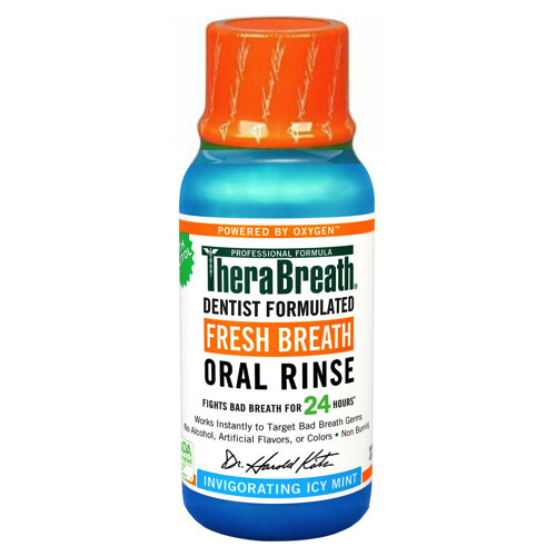 TheraBreath Icy Mint غسول الفم ثيرابريث