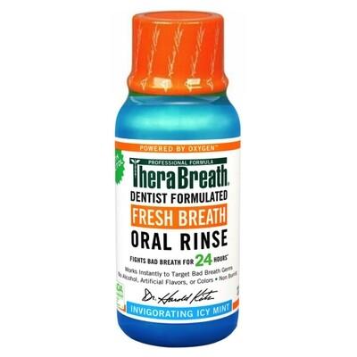 TheraBreath Icy Mint غسول الفم ثيرابريث