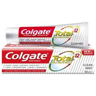 Colgate Total whole Mouth Health Toothpaste 50 ml معجون كولجيت صحة الفم الكاملة