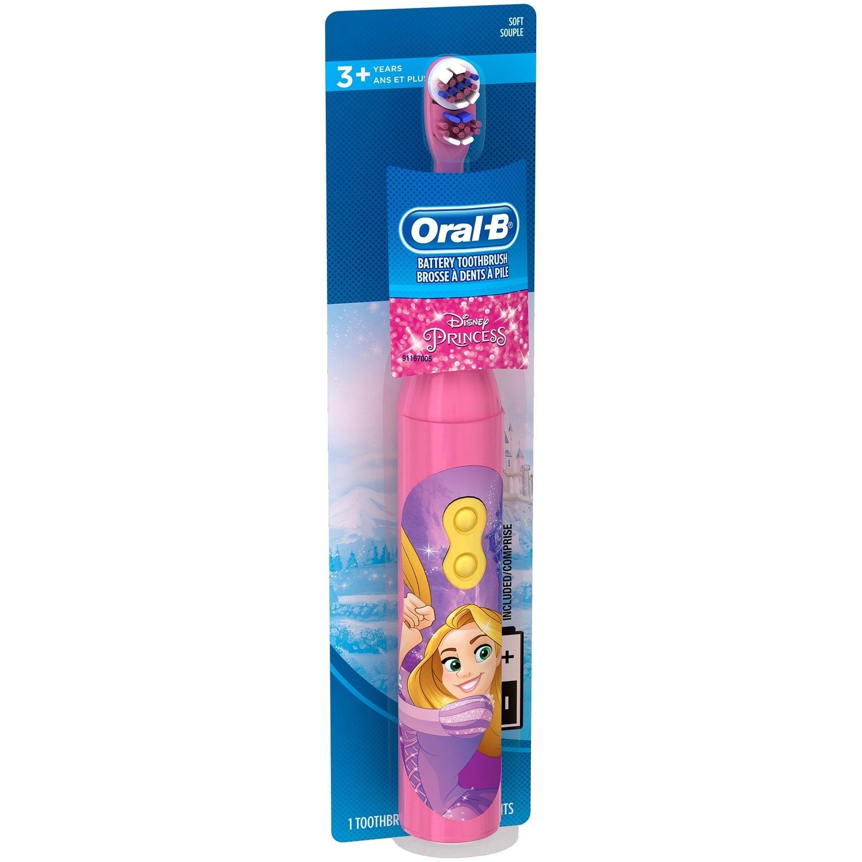 Oral-B Kids electric battery toothbrush Disney Magic Princess فرشاة أسنان الكترونية للأطفال
