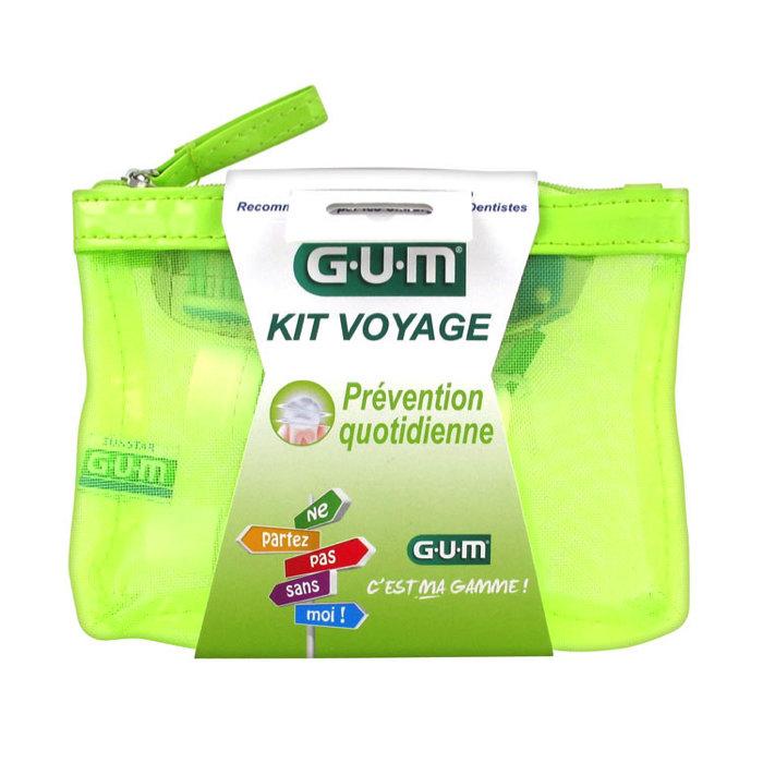 GUM Travel Kit Prevention مجموعة الوقاية