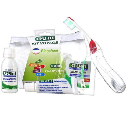 GUM Travel Kit Whiteness مجموعة التبيض
