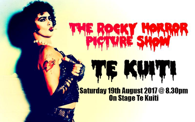 Te Kuiti - Rocky Horror (Credit Card/PayPal Payment only)