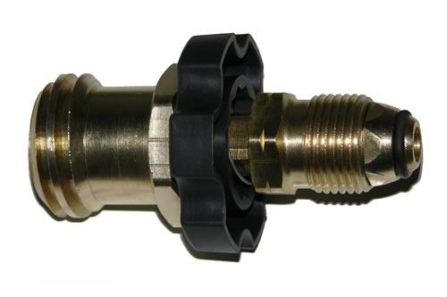 27-115              1 5/16 Inch Acme X Brass Hand Tight P.O.L.