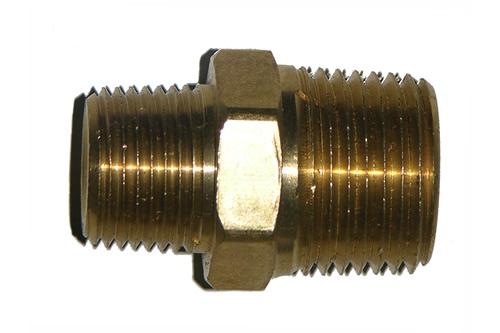 42-10            3/8 Inch Male Pipe Thread X 1/4 Inch Male Pipe Thread Reducing Nipple